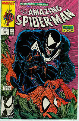 Amazing Spiderman # 316 (1st Venom cover) (Todd McFarlane) (USA,1989)
