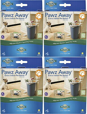 Pet Safe Pawz Away Extra Indoor Barrier 4pk