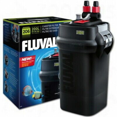Fluval 206 A207 External Canister Filter up to 45 Gal