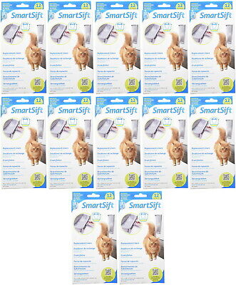 Catit SmartSift Replacement Liners Pull-Out Waste Bin 144pk (12x12pk)