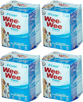 Four Paws Wee Wee Pads, XL, 21 Count, 4 Pack