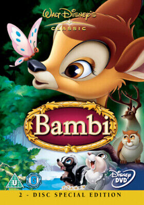 Bambi DVD (2005) David Hand cert U Value Guaranteed from eBay's biggest seller!