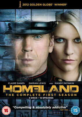 Homeland: The Complete First Season DVD (2012) Claire Danes cert 15 4 discs