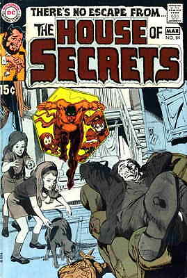 HOUSE OF SECRETS #84 VG, Neal Adams Cover, Mystery, DC Comics 1970