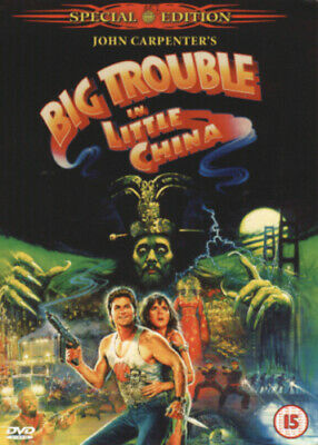 Big Trouble in Little China DVD (2002) Kurt Russell