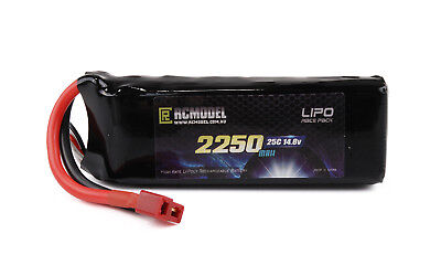 Lipo Battery 14.8V  2250mAh 25C 50C for RC boat car helicopter