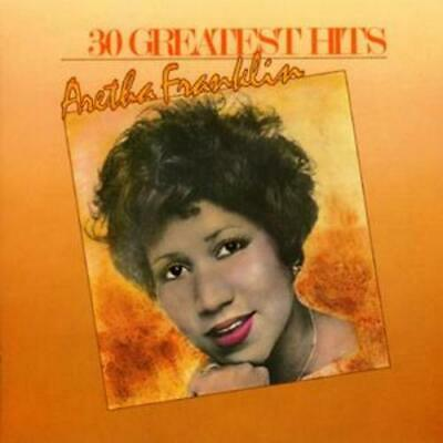 Aretha Franklin : 30 Greatest Hits CD 2 discs (1993) FREE Shipping, Save £s