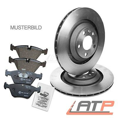 Brake Discs + Pads Front Vented Ventilated Ø295 Toyota Avensis T27 08-