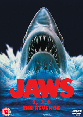 Jaws 2/Jaws 3/Jaws: The Revenge DVD (2009) Roy Scheider ***NEW***
