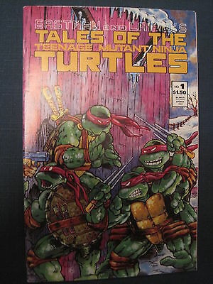 TEENAGE MUTANT NINJA TURTLES # 1 by EASTMAN & LAIRD. VFN - NM. MIRAGE.1987