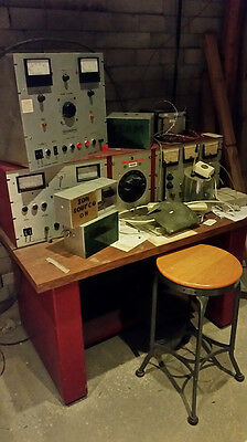 educational or movie set  Particle  Accelerator,  Hypotronics , High Voltage,