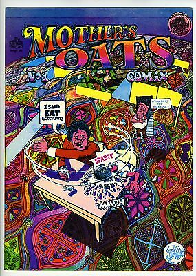 MOTHER'S OATS COMIX #1 - 1st printing - High grade!
