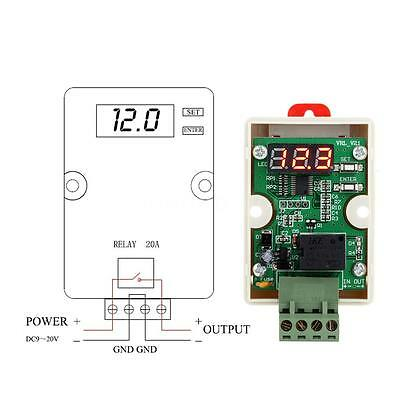 12V Relay Voltage Control Delay Under Voltage Protection for Car Battery Z7KP