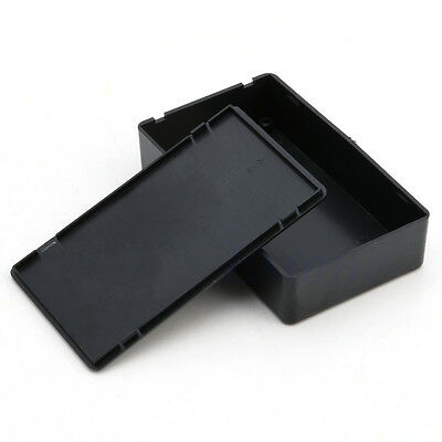 Plastic Electric Project Box Enclosure Instrument Case Junction Box 100x60x25mm