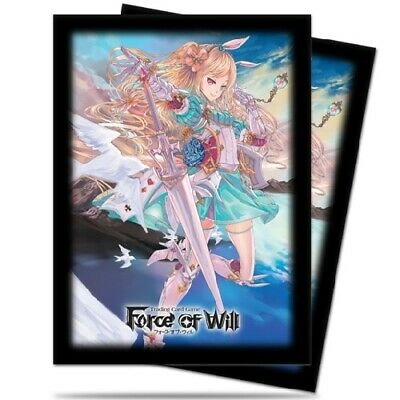 Ultra PRO 65 Standard Deck Protector Sleeves Force of Will Alice fit MTG 84644
