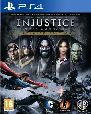 Injustice: Gods Among Us: Ultimate Edition (PS4) VideoGames