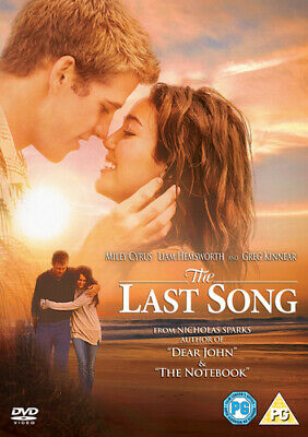 The Last Song DVD (2010) Miley Cyrus, Robinson (DIR) cert PG Fast and FREE P & P