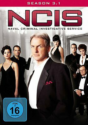 NCIS - Navy CIS - Season/Staffel 3.1 # 3-DVD-BOX-NEU