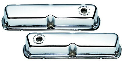 Mr Gasket 9804 Chrome Valve Covers - Ford 289-302-351W - OEM Height