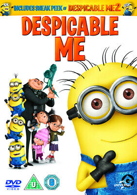 Despicable Me DVD (2013) Pierre Coffin cert U 2 discs FREE Shipping, Save £s