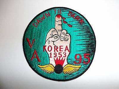 b8979 US Navy Korea VA 95 Attack Squadron Ordnance USS Philippine Sea ir28f