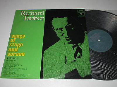 LP/SONGS OF STAGE AND SCREEN Volume 1/RICHARD TAUBER/Parlophone PMEO-9573