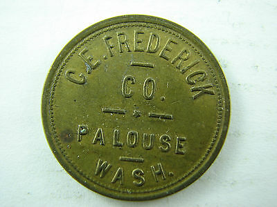Token c.e frederick palouse Wash good for 50 cents in trade