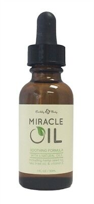 EARTHLY BODY MIRACLE OIL 1OZ NATURAL HEALER NOVELTIES Rejuvenate the skin