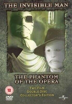 The Invisible Man/The Phantom of the Opera DVD (2004) Claude Rains