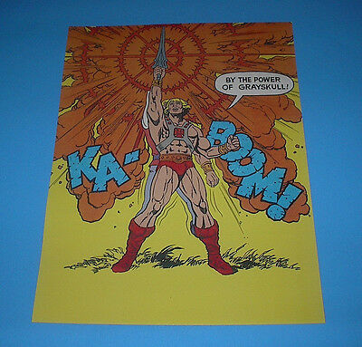 He-Man Masters Of The Universe Transformation Poster Pin Up