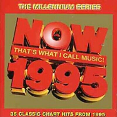 Various Artists : Now Thats What I Call Music 1995 - Mille CD