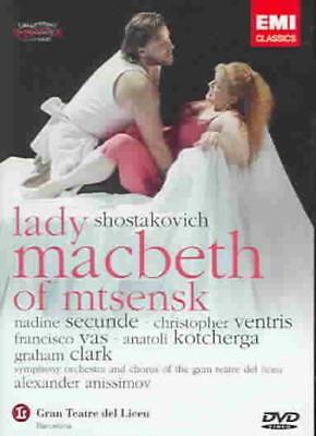 Shostakovich: Lady Macbeth Of Mtsensk New Dvd