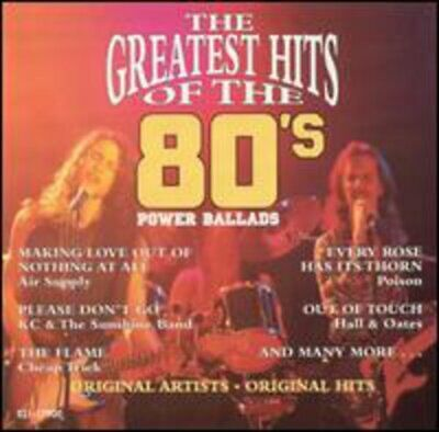 Various Artists : The Greatest Hits of the 80s: Power Ballads (Vol. 5) CD