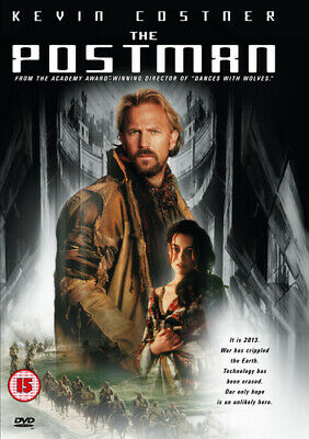 The Postman DVD (1998) Kevin Costner cert 15 Incredible Value and Free Shipping!