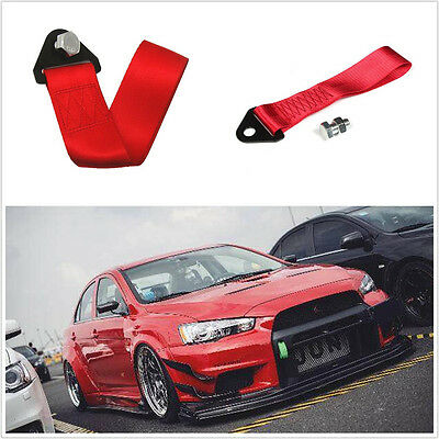 50*275 mm Car Racing Loop Rally Drift Competition Touring Tow Strap Hook Rope