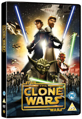 Star Wars - The Clone Wars DVD (2008) Dave Filoni cert PG FREE Shipping, Save £s