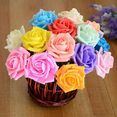 Wholesale 10Pc  Head Real Touch Latex Rose Flowers For wedding Bouquet Decor