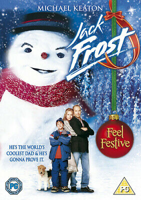 Jack Frost DVD (1999) Michael Keaton, Miller (DIR) cert PG Fast and FREE P & P