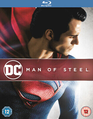 Man of Steel Blu-Ray (2013) Henry Cavill