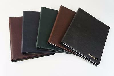 Schulz Banknote Album With White Dividers Mix Pages For Notes Collection BLACK