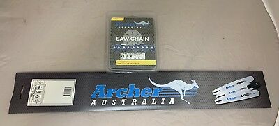 """2 Pack 18/"""" Chainsaw Chain .325-063-74DL replaces 028 029 MS290 MS260 MS360 Stihl"""