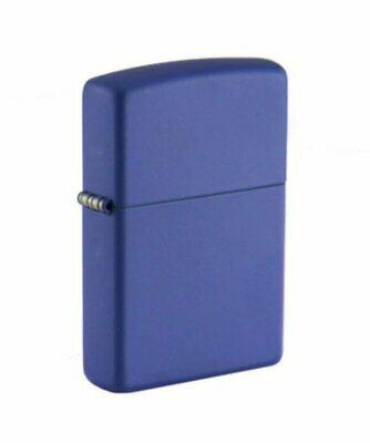 Zippo Royal Blue Matte Lighter, Classic, USA Genuine Windproof #229