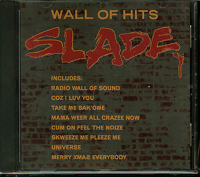 Slade Wall of Hits CD new greatest hits