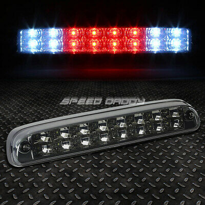For 99-16 Ford Super Duty 2-Row Led Rear Third 3Rd Tail Brake Light Lamp Smoked