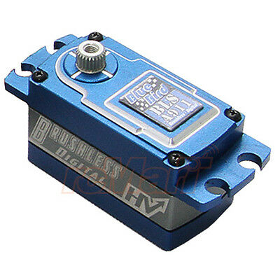 Blue Bird Aluminum Wide Voltage Digital Brushless Low Profile Servo #BLS-A911
