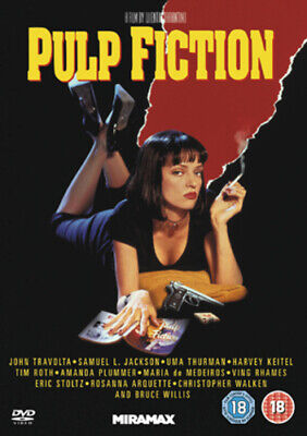 Pulp Fiction DVD (2011) Quentin Tarantino cert 18 Expertly Refurbished Product