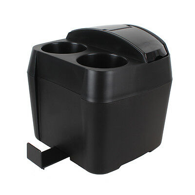Black Car Vehicle Beverage Bottle Can Drink Cup Holder Stand Clip Accessories