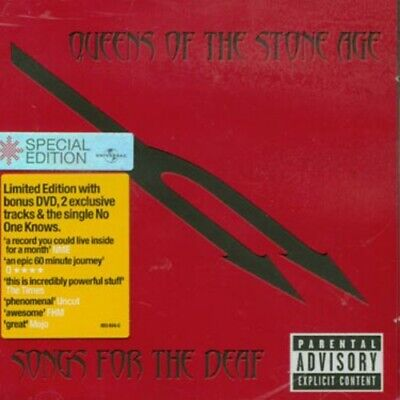 Queens of the Stone Age : Songs for the Deaf [CD & DVD Set] CD