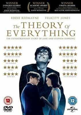 The Theory of Everything DVD (2015) Eddie Redmayne