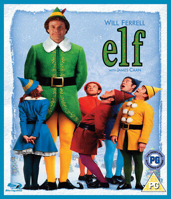 Elf Blu-Ray (2008) Will Ferrell, Favreau (DIR) cert PG FREE Shipping, Save £s